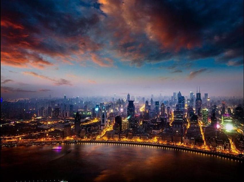 纵观世界!从天空俯览全球各大城市美丽迷人夜景...