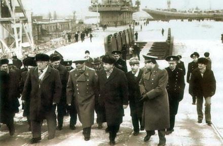 苏联最终没有完成瓦良格号的制造