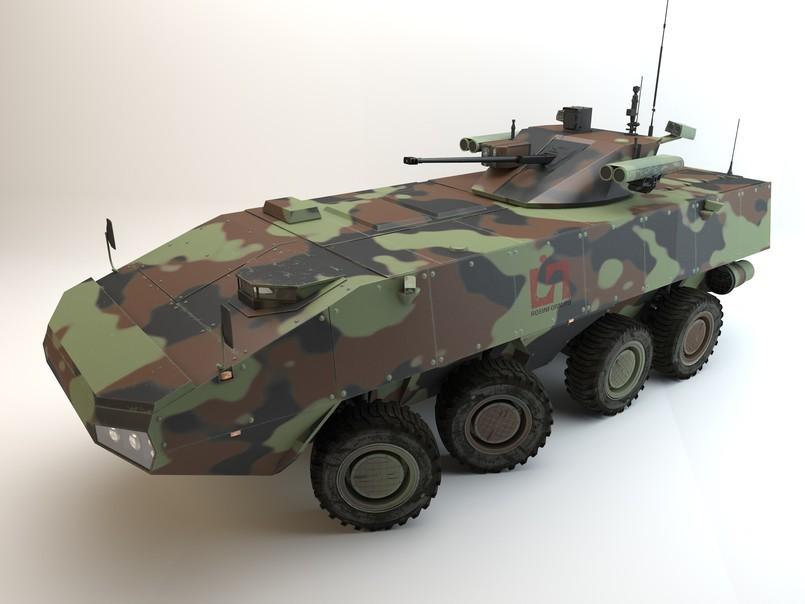 俄罗斯最新中型轮式战车曝光_军事_环球网