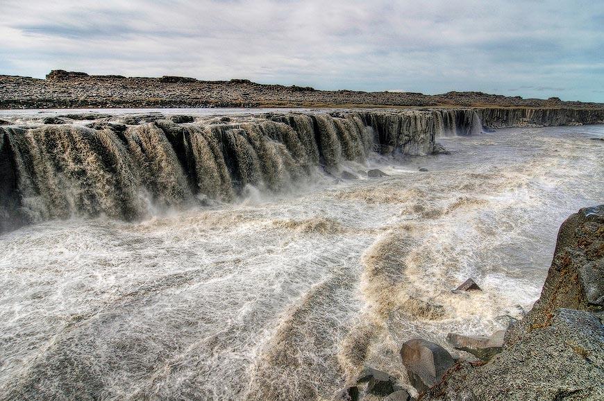 欧洲最高瀑布:冰岛黛提瀑布 - 海阔山遥 - .