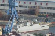 辽南某船厂也在憋足劲造056