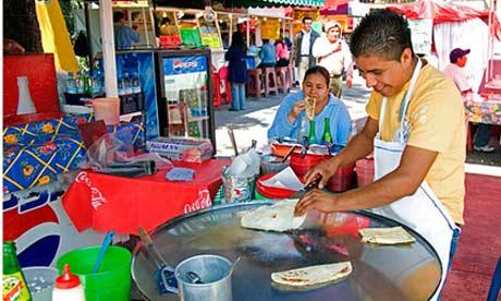 吃在墨西哥 细数那些受欢迎的街头小吃