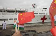 中国军舰时隔三年再访印度