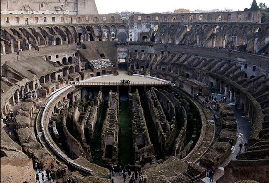 走近罗马圆形大剧场 见证著名历史遗迹的变迁