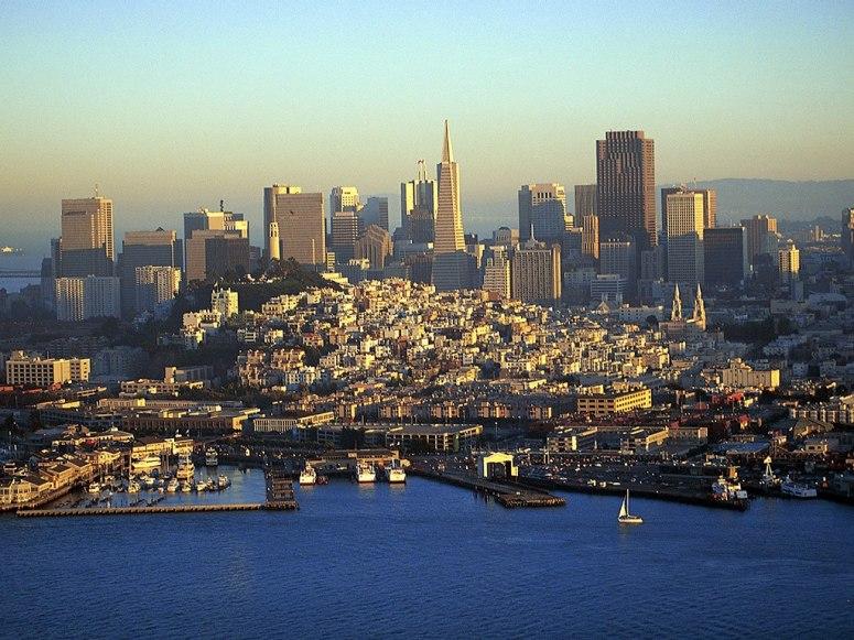 云端上俯瞰全球各大城市