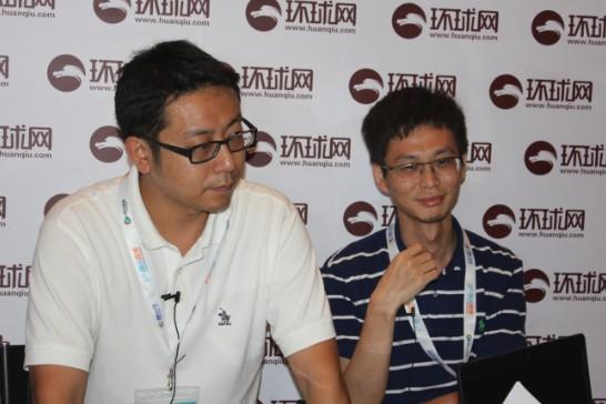 傲游产品总监杜康、张宁