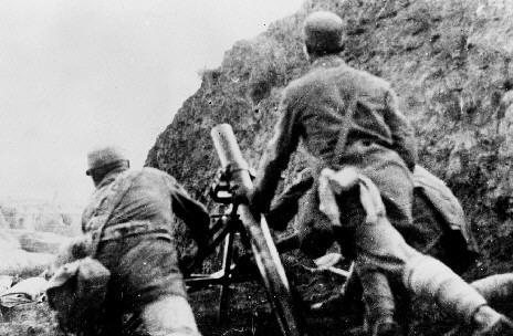 中国军队抗击日本侵略者