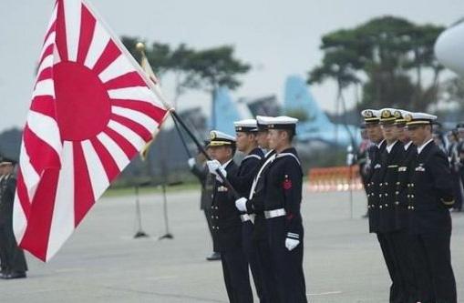 现在日本仍然在使用旧日本的军旗