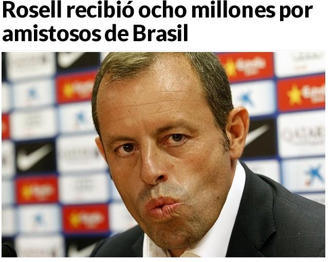 《马卡报》截屏:罗萨尔非法营利800万
