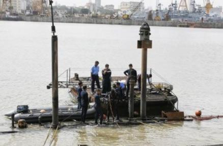 印度失事潜艇完全沉没