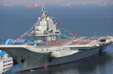 中国海军辽宁号航空母舰