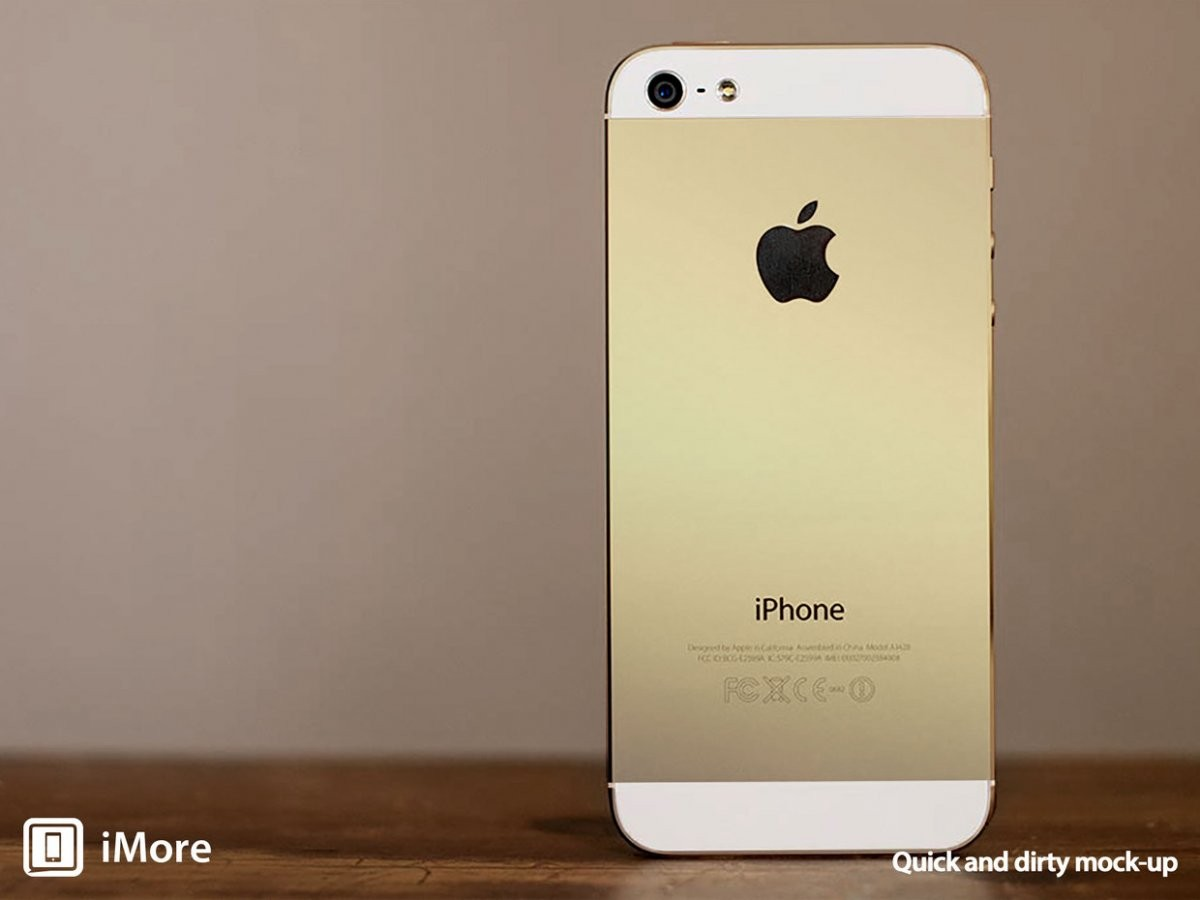传苹果将在中国市场推出金色版iPhone 5S