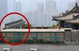 西安高层楼顶盖仿古庭院式建筑