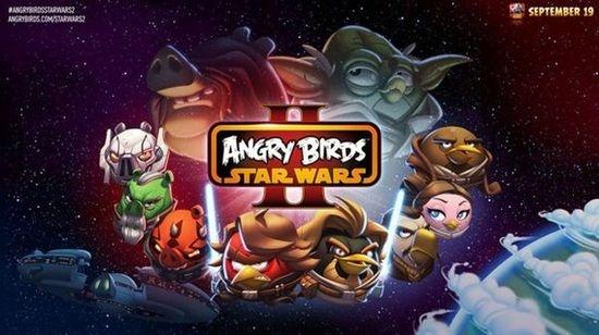 《愤怒的小鸟:星球大战2》9月19日登陆三大平台