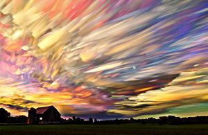 风光摄影:云飘过的地方