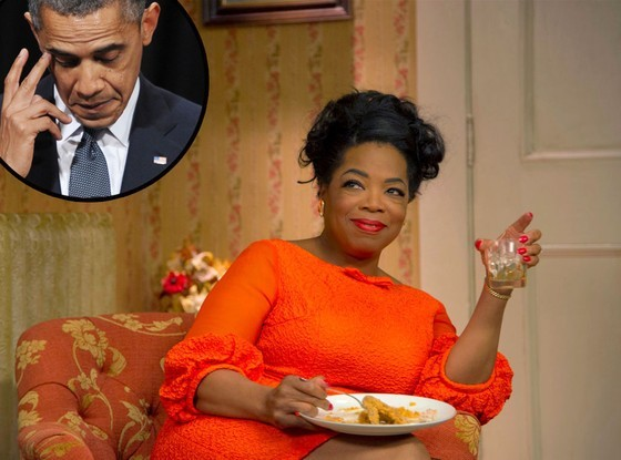 奥巴马观《白宫管家》落泪 惊叹奥普拉能演戏