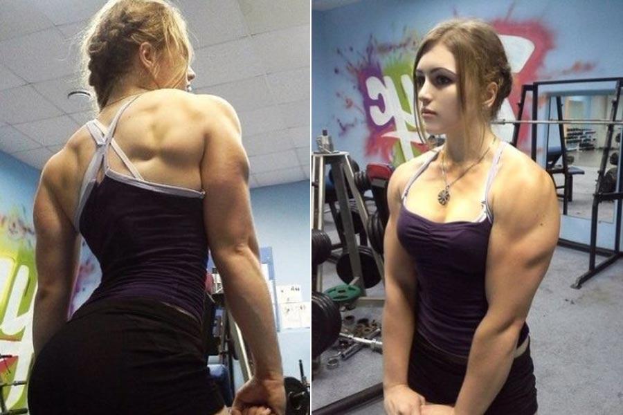 俄罗斯肌肉美女 俄罗斯17岁美女肌肉