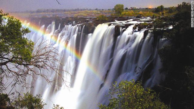 风景 最美/月虹,赞比亚...