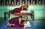 被梵天护持的国度缅甸 嗅到时光的味道