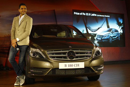 奔驰汽车印度提价 应对进口税增加高清图片