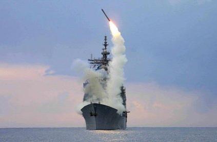 战斧导弹带来了美式民主的问候