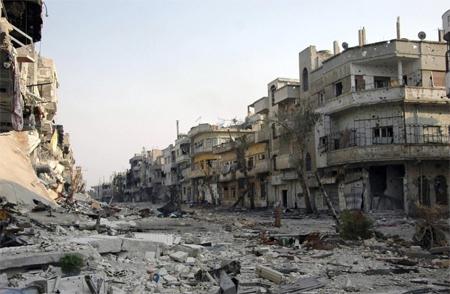 战争让叙利亚已经成为了一片废墟