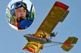 """北京5岁""""裸跑弟""""驾机飞越野生动物园 专家称黑飞"""