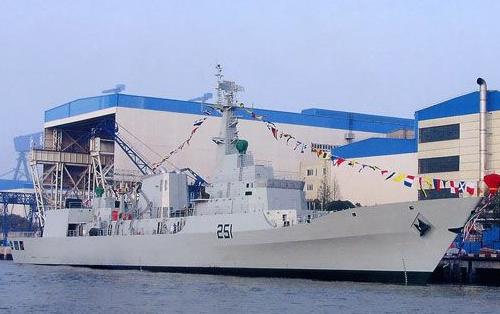 巴第4艘F22P战舰入列中方出席 巴总理出席盛赞