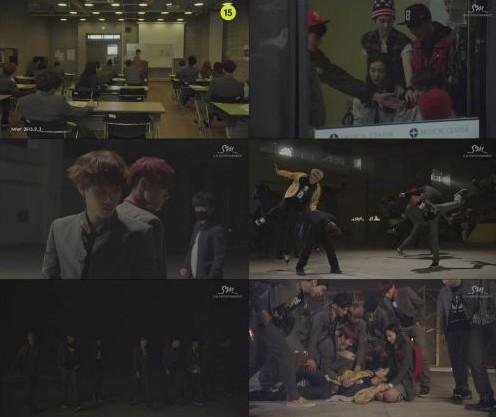 EXO公开剧情版MV 充满野性魅力
