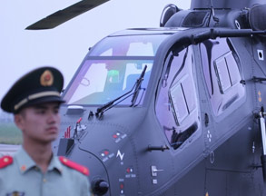 直博会近距感受武直-19直升机 超清细节实拍