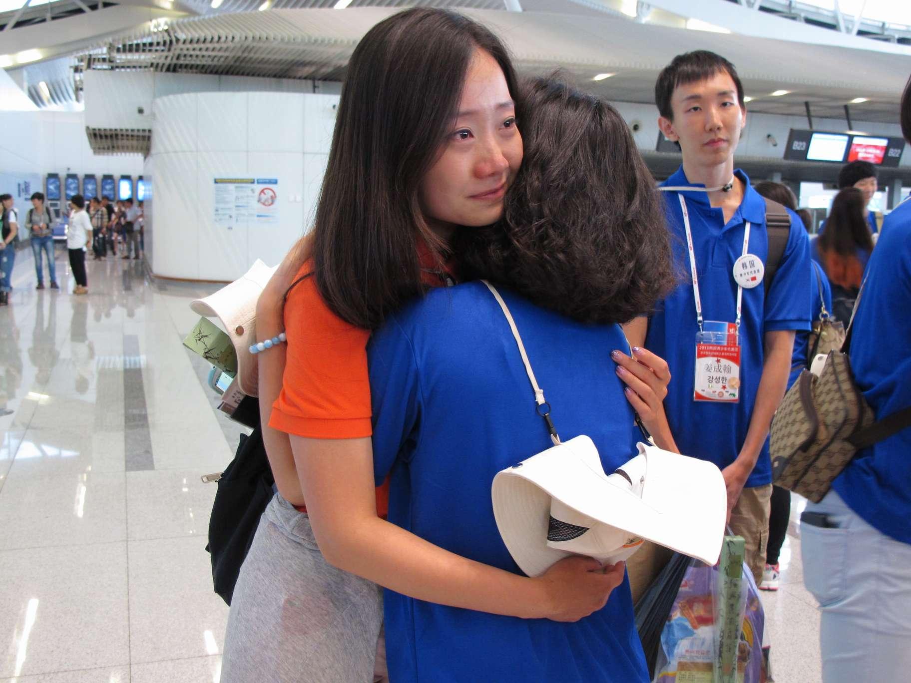 韩青年结束访华行程 中韩青年相约未来再聚