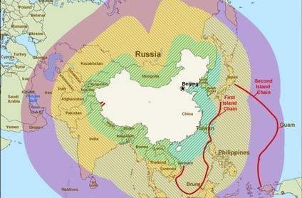 美国构想用岛链控制住中国的海洋