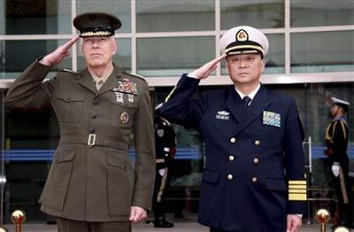中美两军交流逐渐频繁