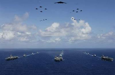 美军空海一体战来势汹汹
