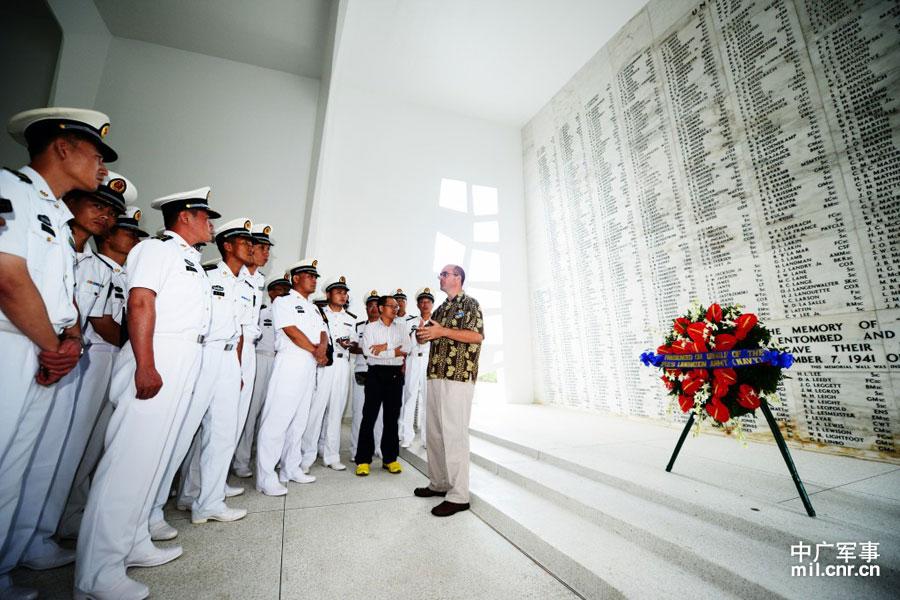 中美海军共忆日本侵略者罪行