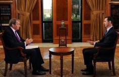 叙总统接受美媒专访:若美进攻叙利亚将付出代价