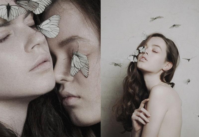 蝴蝶姬 美女写真