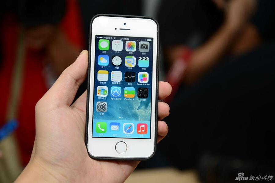中国 真机/苹果iPhone 5s/5c真机实拍图集(9/51)