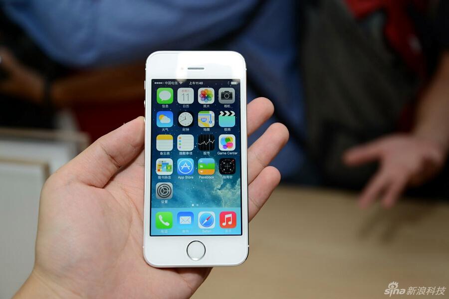 苹果 iphone/苹果iPhone 5s/5c真机实拍图集(34/51)