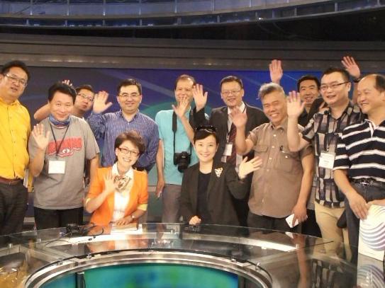 意见领袖韩国行:海霞带你感受KBS电视台