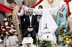 纪实摄影:客厅里的伊朗人