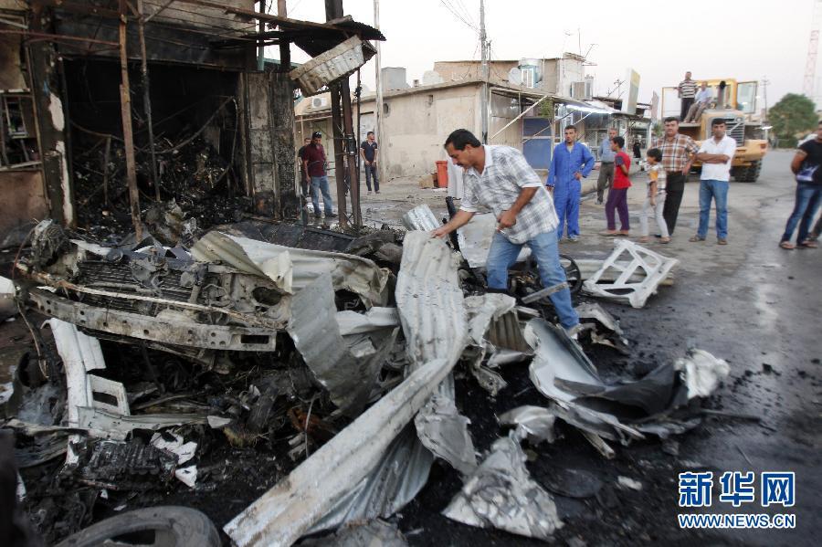 伊拉克 恐怖袭击 伤亡 一系列/伊拉克15日一系列恐怖袭击近180人伤亡(2/4)