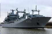 这是德国海军现役的最大军舰