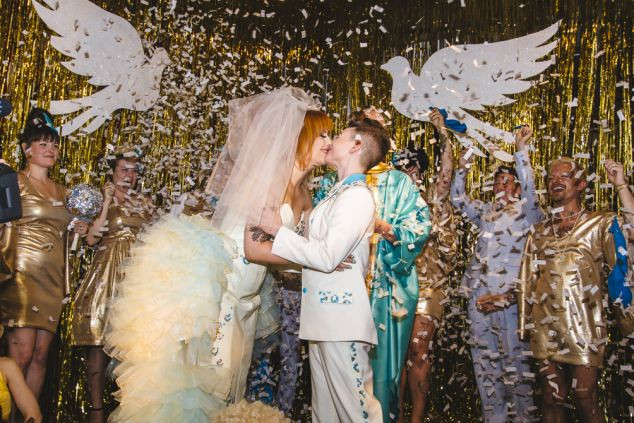 婚礼泡泡机效果图