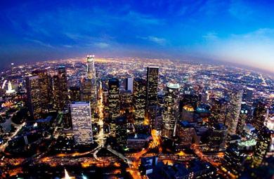 俯瞰夜幕下的世界名城 醉爱美国西雅图