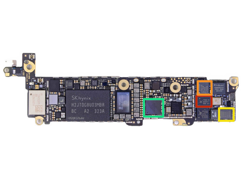 苹果 拆解/大卸八块:苹果iPhone 5s拆解(30/32)