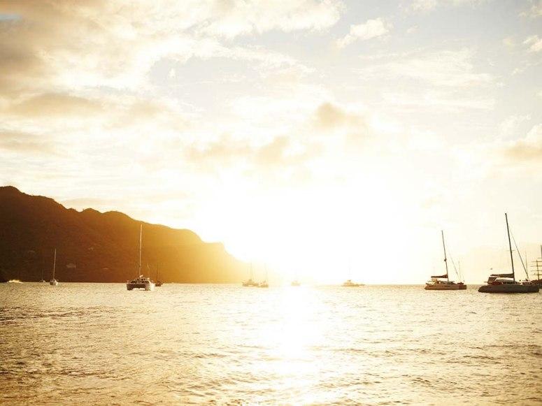 没受污染的加勒比海群岛风光_旅游_环球网