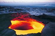 震撼!17张照片尽览火山熔岩景观