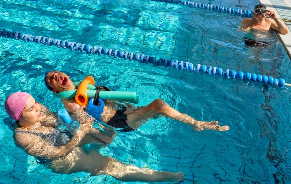 天空游泳:关注西班牙脑瘫患者