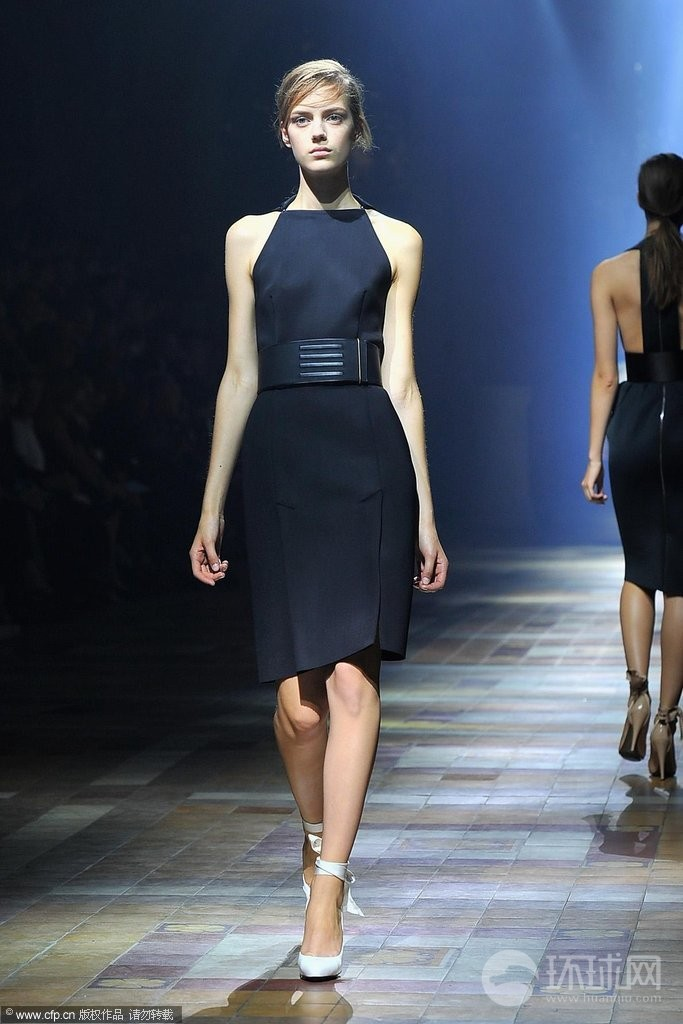 巴黎春夏时装周:lanvin品牌秀场